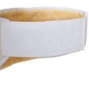 Niergordel met flexibele band, binnenkant 100% merinowol