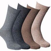 Superzachte alpaca-sokken van Fellhof