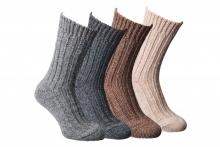 Fellhof alpaca-sokken, dik