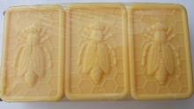 Bijenwas zeep van de imker