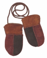 Lamswollen handschoenen baby WO 5293